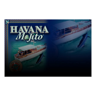 HAVANA MOJITO LARGE CANVAS Print