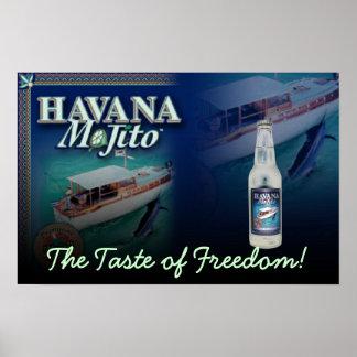 HAVANA MOJITO THE TASTE OD FREEDOM LARGE Print