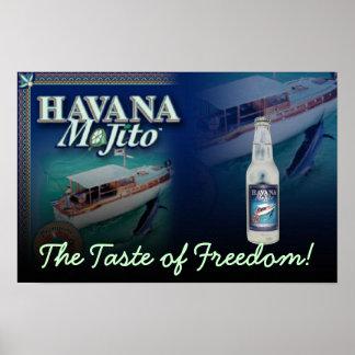 Havana Mojito the Taste of Freedom Canvas Print