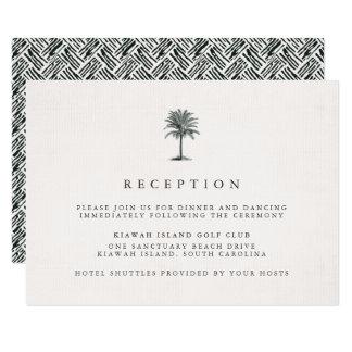 Havana Palm Reception Card