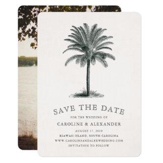Havana Palm Save the Date Card