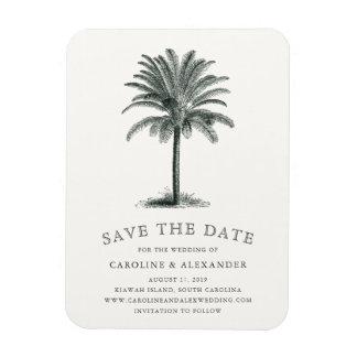 Havana Palm Save the Date Magnet