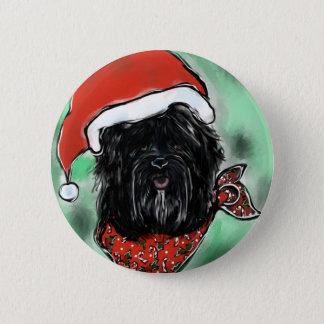 Havana Silk Dog 6 Cm Round Badge