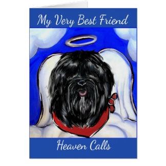 Havana Silk Dog Card