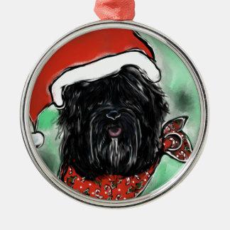 Havana Silk Dog Metal Ornament