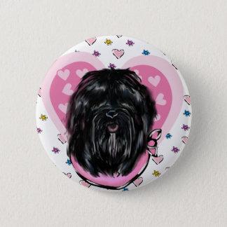 Havana Silk Dog Mothers Day 6 Cm Round Badge