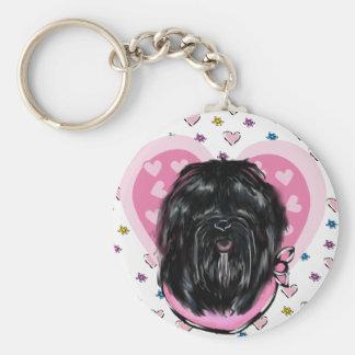 Havana Silk Dog Mothers Day Key Ring