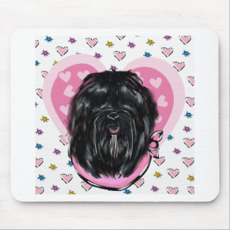Havana Silk Dog Mothers Day Mouse Pad