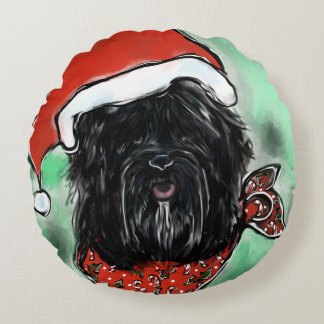 Havana Silk Dog Round Cushion