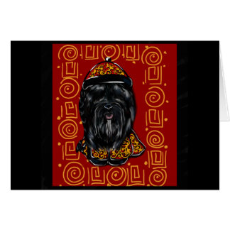 Havana Silk Dog Year of the Dog Card