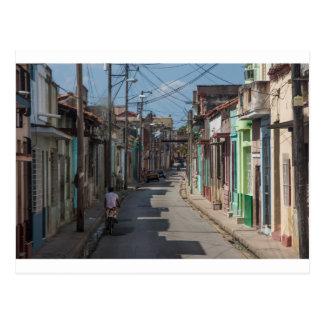 Havana streets postcard