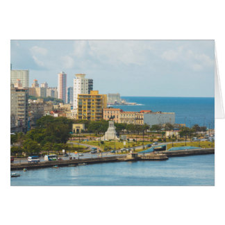 Havana Waterfront, Cuba. Card