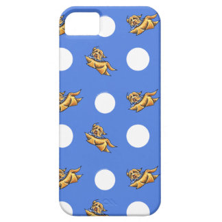 Havanese Blue Polka Dots iPhone 5 Cases