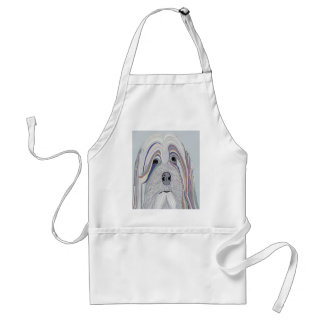 Havanese Denim Colors Standard Apron