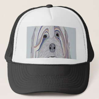 Havanese Denim Colors Trucker Hat
