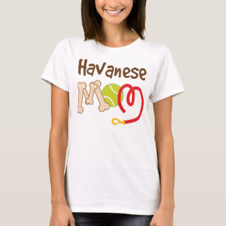 Havanese Dog Breed Mom Gift T-Shirt