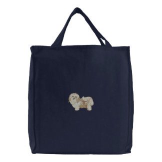 Havanese Dog Canvas Bags