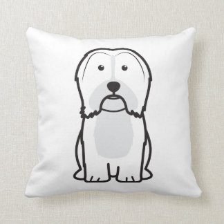 Havanese Dog Cartoon Cushion