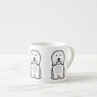 Havanese Dog Cartoon Espresso Cup