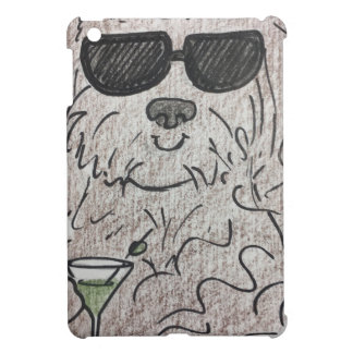 Havanese dog martini cover for the iPad mini