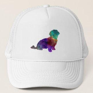 Havanese in watercolor trucker hat