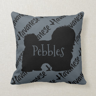 Havanese Love Custom Cushion
