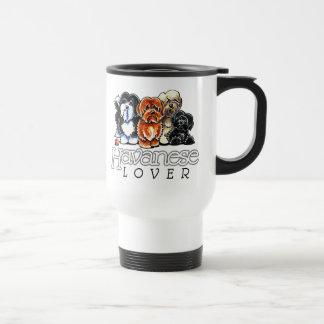 Havanese Lover Stainless Steel Travel Mug