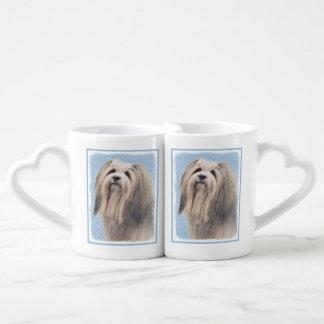 Havanese (Silver) Coffee Mug Set
