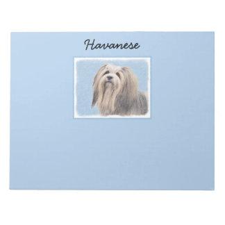 Havanese (Silver) Notepad
