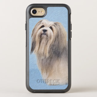 Havanese (Silver) Painting - Cute Original Dog Art OtterBox Symmetry iPhone 8/7 Case
