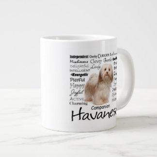 Havanese Traits Jumbo Mug