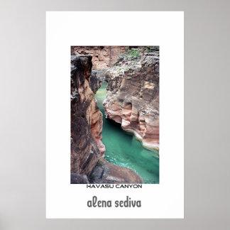 Havasu canyon poster
