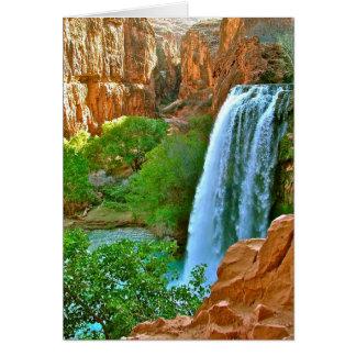Havasu Falls Canyon Card