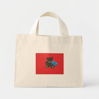 Have a Beary Merry Christmas! Mini Tote Bag