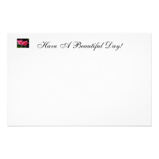 Have a Beautiful Day Stationery Design