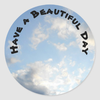 have a beautiful day sticker
