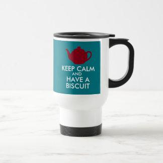 Have a Biscuit! 2.0 Travel Mug