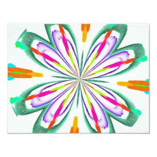Have A Blast Abstract Custom Invite