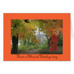 Have a Blessed Thanksgiving Greeting Card