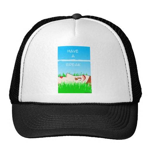 have a break! mesh hats