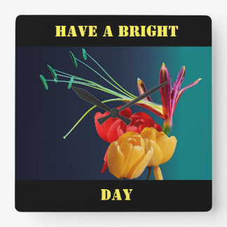 Have a Bright Day Wall Clock