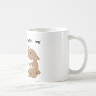 Have a Bunny Morning! Basic White Mug