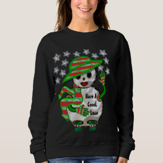 """Have A Cool Christmas"" Snowman Sweatshirt"