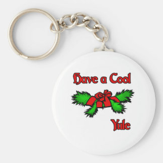 Have a cool Yule Keychains