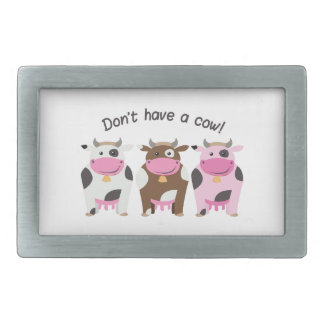 Have A Cow Belt Buckles