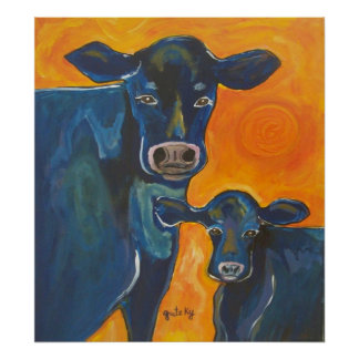 Have A Cow Poster