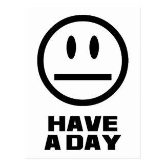 Have a Day Postcard