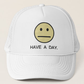 Have a Day Smiley Face Trucker Hat