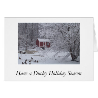 Have a Ducky Holiday Season Card