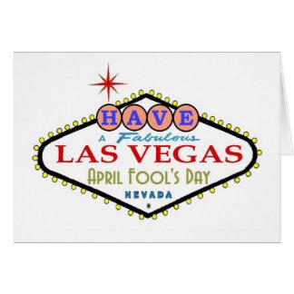 Have A Fabulous Las Vegas April Fool's Day Card